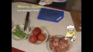 Arpa Şehriyeli Tavuk - Chicken with Vermicelli, Turkish Cuisine