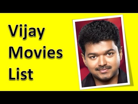 Vijay Movies List