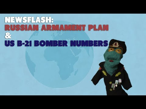 Russian state armament plan & Future US B-21 bomber fleet