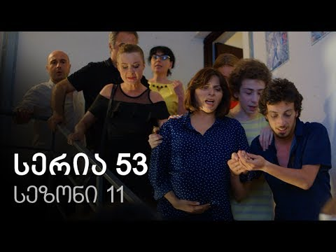 Cemi colis daqalebi - seria 53 (sezoni 11)
