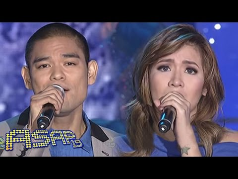 Angeline and Jay-R sing 'O Holy Night' on ASAP
