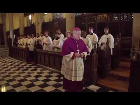 The Rosary - Joyful Mysteries (prayed by Archbishop Carlson & the seminarians)