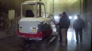 2 step cleaning a excavator is equipment dealers wash bay hydro chem systems 800 666 1992