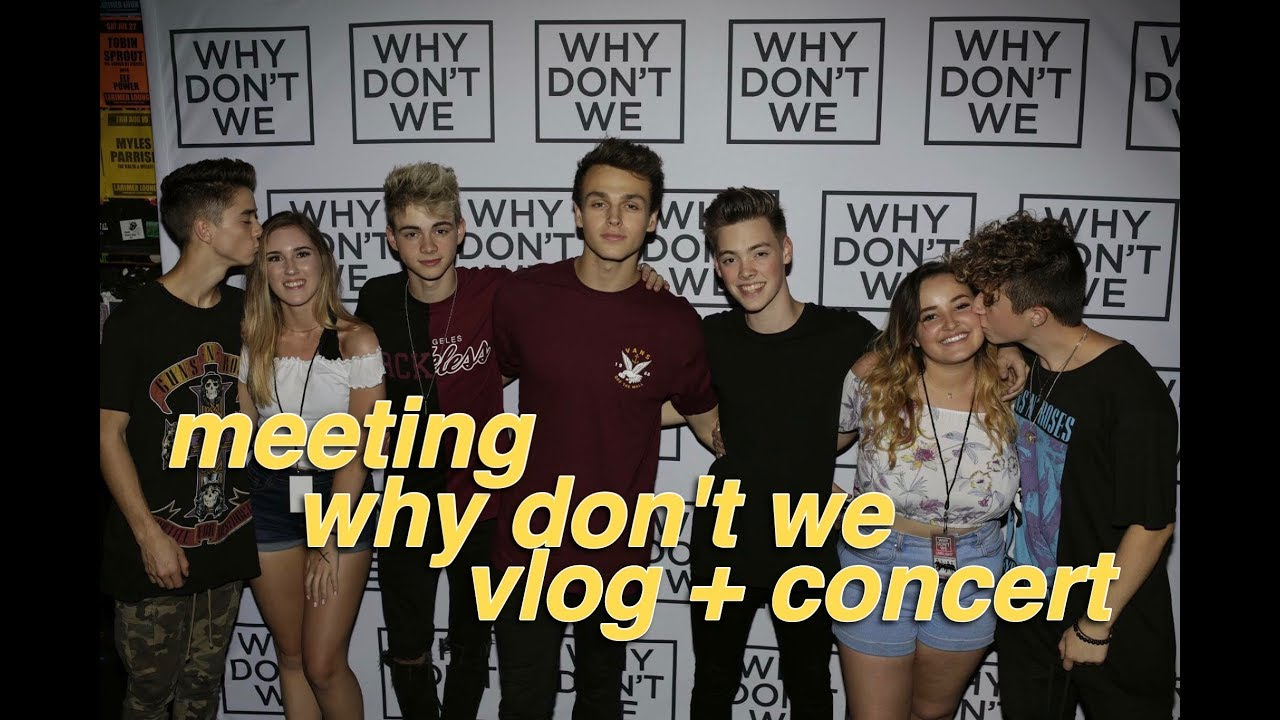 Meeting Why Dont We Concert Limelight Experience Minnesota