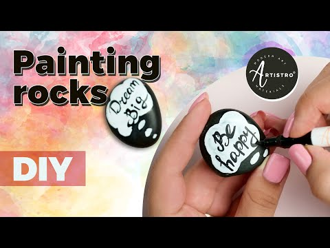DIY How to Paint Rocks | The Kindness Rock Tutorial |