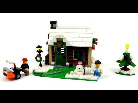 lego-creator-31038-changing-seasons-model-c---winter-cottage-speed-build