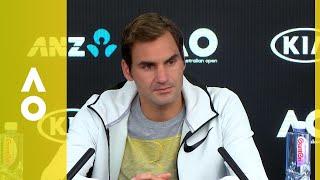 Roger Federer press conference (2R) | Australian Open 2018