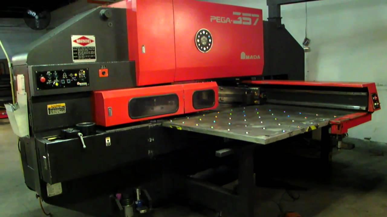AMADA PEGA 357 CNC Turret Punch 1993'