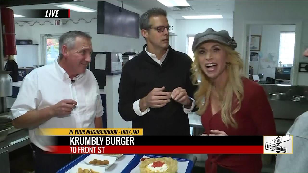Krumbly Burger   Interview Matt & JanetBass