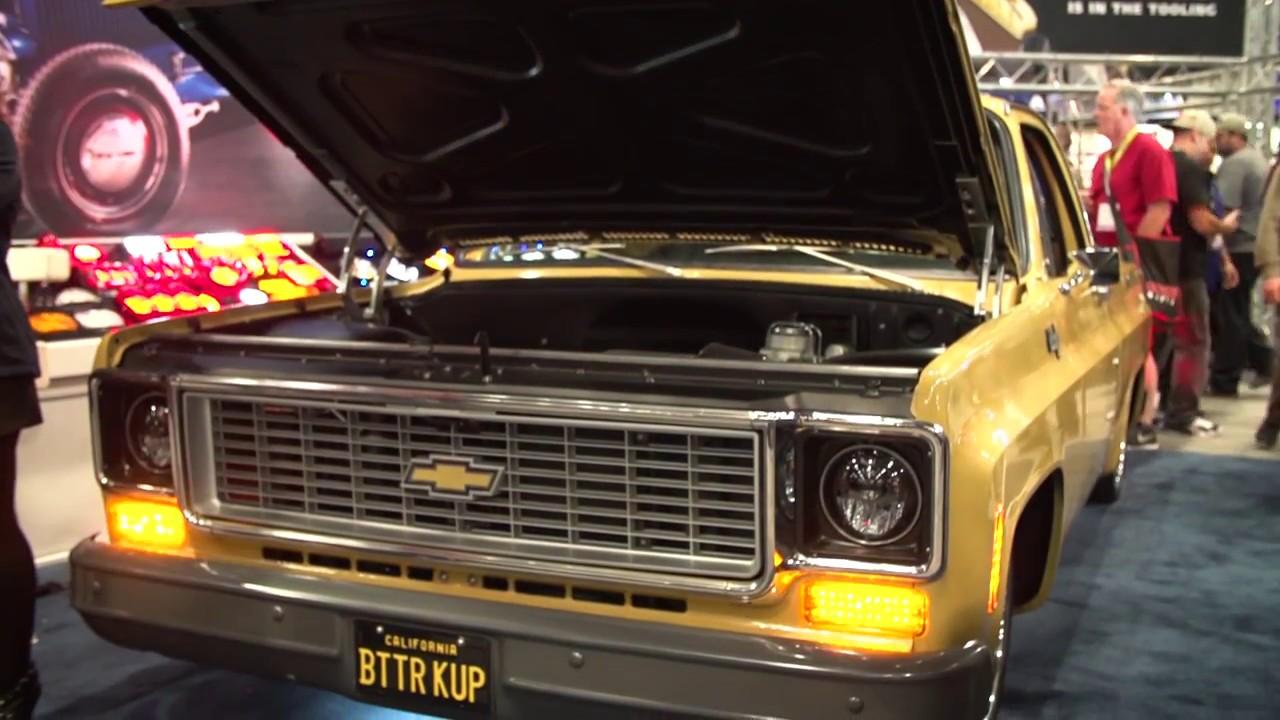 Featured vehicle 1974 c10 at sema 2016