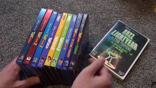 Disney/pixar Toy Story Complete Collection Video - 4k Ultra Hd Blu-ray And Dvd 2019 Update