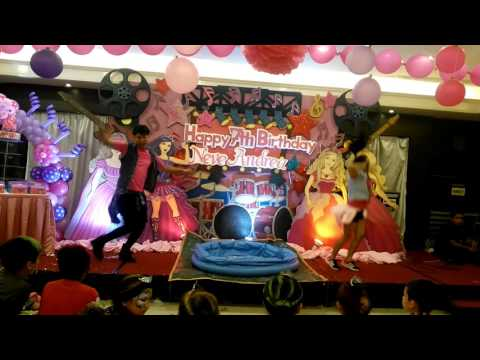 Real Fun Party's Barbie Popstar Princess Themed 7th Birthday Party of Andi @ The Fortune Seafood Res