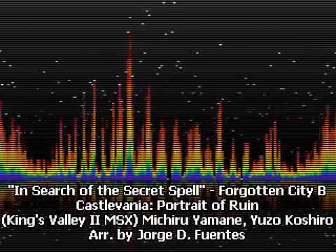 In Search Of The Secret Spell - Forgotten City B - Castlevania: Portrait Of Ruin