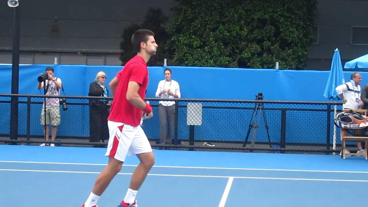 Novak Djokovic Trainer