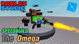 Speed Build : Navarone19 CH Model 7 The Omega - roblox studio
