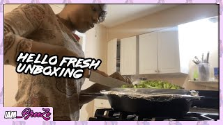 Hello Fresh Meal Review & Unboxing | My Family Judges My Cooking