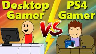 Desktop Gamer Vs Ps4 Gamer