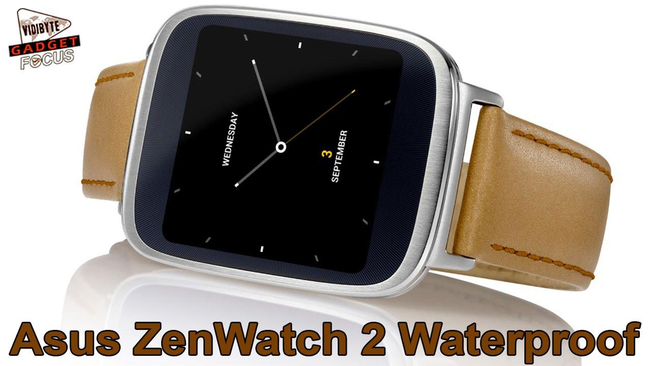 Asus ZenWatch 2 : Waterproof & Affordable