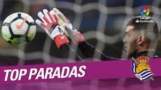 TOP Paradas Real Sociedad LaLiga Santander 2017/2018