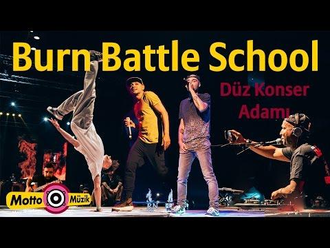 Ceza / Sansar Salvo / Grandmaster Flash - Burn Battle School - Düz Konser Adamı