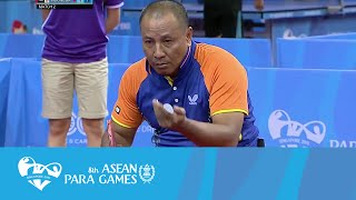 Baixar Table Tennis Men's Team - Class 4-5 Semi Final 2/2 Singles 2 | 8th ASEAN Para Games 2015
