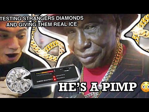 TESTING STRANGERS DIAMONDS💎🤕 THEN GIVING THEM REAL ICE If It's FAKE ❄️ *MUST WATCH* Public Interview