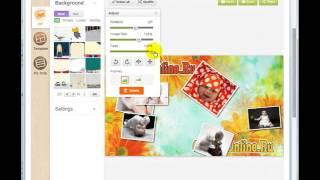 Урок 2 - Коллаж Онлайн - Создание эффекта разбросанных фото на столе