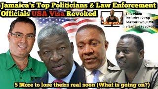 USA takes away Jamaican top politician Visas