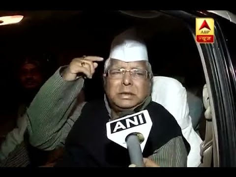 Mani Shankar Aiyer's mind is not working: Lalu Prasad Yadav