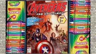 Iron Man Coloring book | The Avengers Coloring Pages | Marvel Avengers Hero Coloring Pages