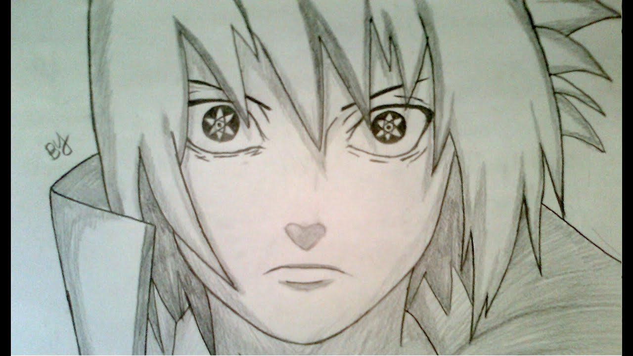 How To Draw Sasuke Uchiha Mangekyou Sharingan Youtube
