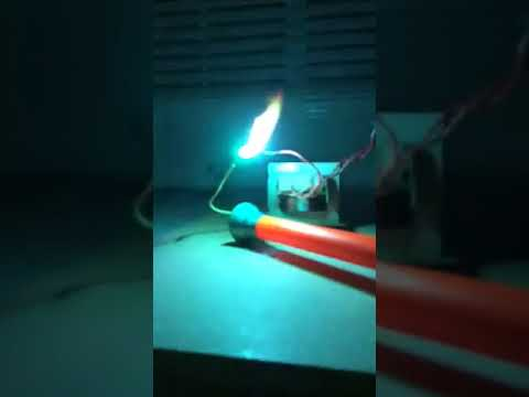 DIY High-Voltage Plasma (DO NOT TRY THIS AT HOME)