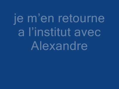 Je me touche dans le parc - 3 accords - karaoke