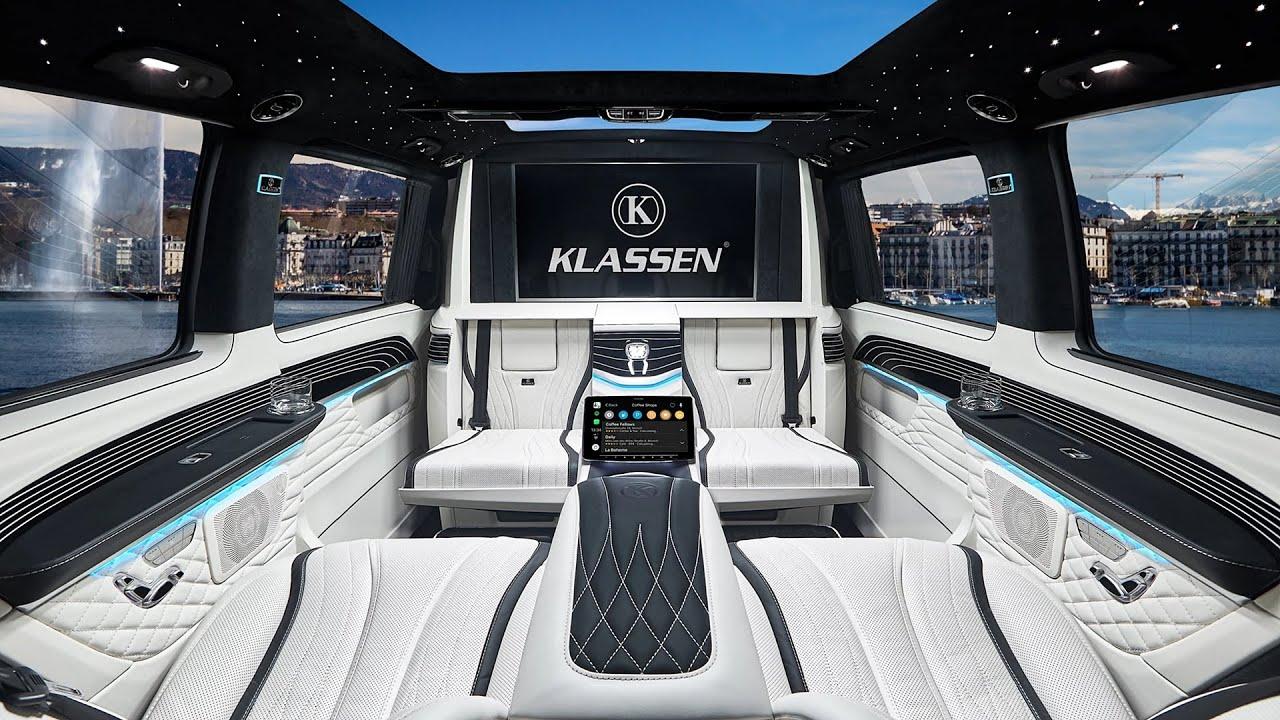 (ВИДЕО) - Ето как изглежда Mercedes V-Class (Klassen) - МЕГА ЛУКС!