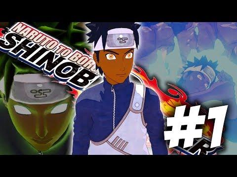 THIS GAME IS LOOKING DOPE!!! CREATING MY OWN NINJA!!   Naruto To Boruto: Shinobi Striker Beta