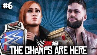 'THE MAN' BECKY LYNCH & FINN BALOR! | WWE 2K19 GM Mode #6