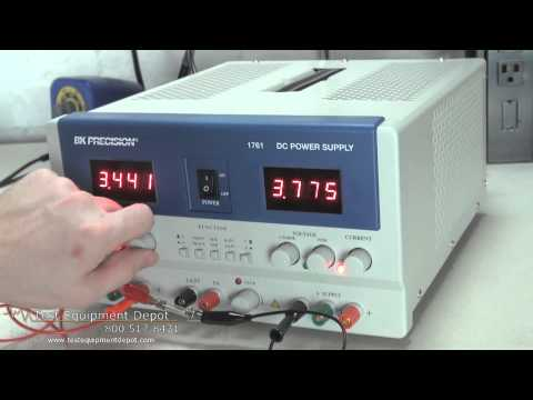 BK Precision 1761 Triple Output DC Power Supply
