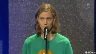 "Daði Freyr Pétursson - ""Is this love?"" [Live] | Söngvakeppnin 2017 - Final"