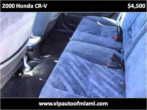 2000 Honda CR-V Used Cars Miami FL