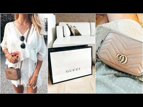 Designer Haul? Gucci Marmont Unboxing | meine neue Handtasche