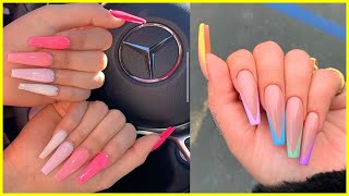 ❤️NAIL ART DESING  Acrylic Nails & Gel Nail  Step By Step Tutorial | Compilation 02