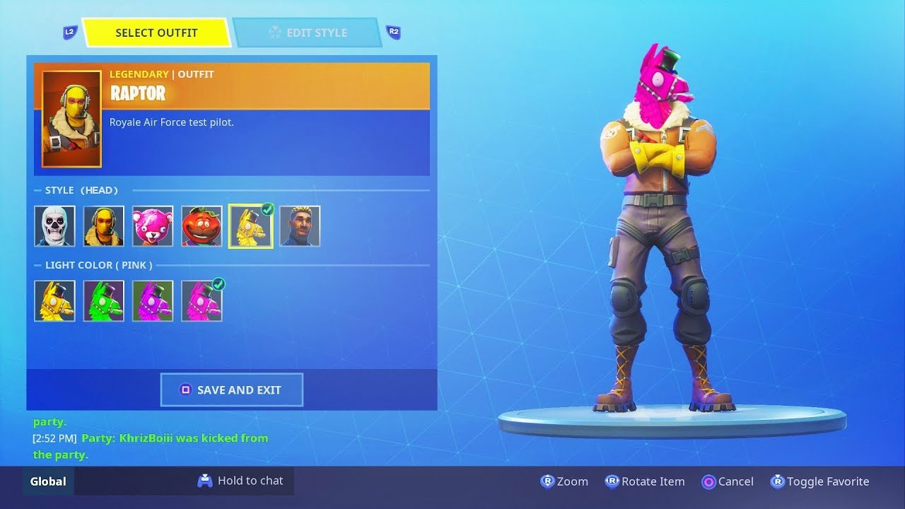 NEW CUSTOMIZATION SYSTEM FOR SKINS COMING IN FORTNITE SEASON