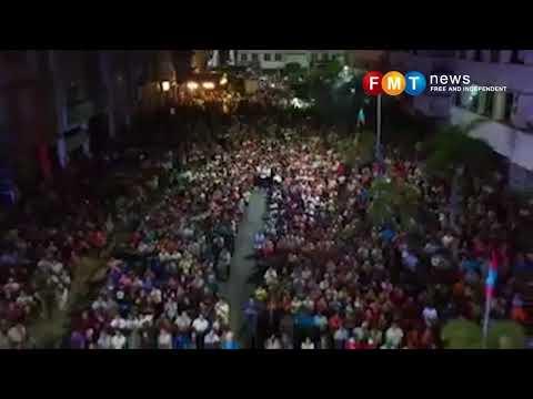 Ribuan orang memenuhi ceramah Pakatan Harapan di Teluk Intan