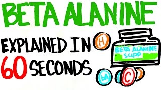 Beta Alanine Explained in 60 Seconds - Better Than Your Typical Supplement?