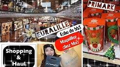 VLOG ➳ Shopping & HAUL MAC / Primark à Euralille