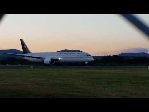 Takeoff Saudi Arabian Airline Flight SV482/SVA482