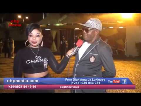 Angola concert ya KOFFI  na Atlantico  Cindy le coeur aza te toyoka ba commentaires ya ba fans