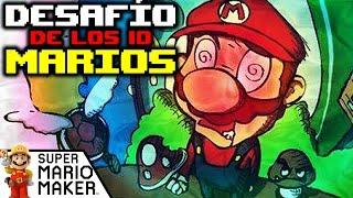 DESAFIO DE LOS 10 PLOMEROS DROGADICTOS - (SUPER MARIO MAKER) | DeiGamer