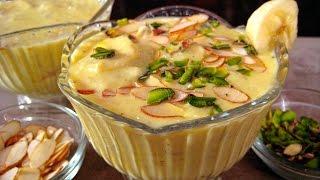 Banana Kheer Recipe In Hindi By Sonia Goyal - केले की खीर रेसिपी @ jaipurthepinkcity.com