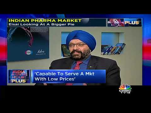 Indian Pharma Market:  Eisai Looking At A Bigger Piece Of the Pie   CNBC TV18